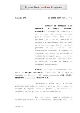 Acórdão-3ªT RO 01384-2007-028-12-00