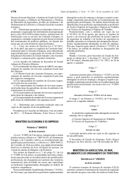 Portaria n.º 384/2012