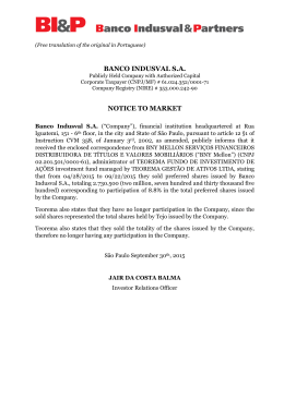 20150930- BI&P- Notice to the Market - ICVM358