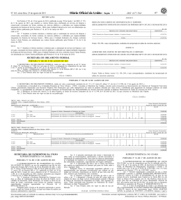 Portaria MPOG SOF nº 105, de 22/08/2013