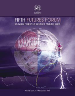 EN: Fifth Futures Forum on rapid response decision
