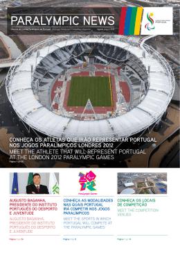 PARALYMPIC NEWS - Comité Paralímpico de Portugal