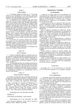 Decreto-Lei nº315/2000 de 2 d e dezembro