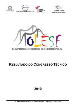 REGULAMENTO GERAL - Prefeitura Municipal de Florianópolis