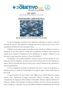ENGENHARIA AERONÁUTICA
