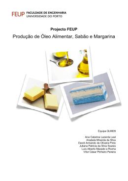 Produção de Óleo Alimentar, Sabão e Margarina