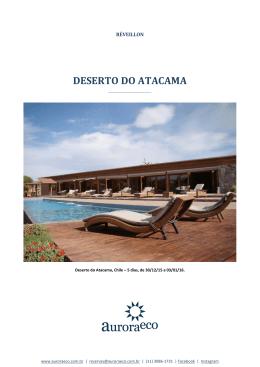 Réveillon no Atacama 30/12/2015 a 03/01/2016