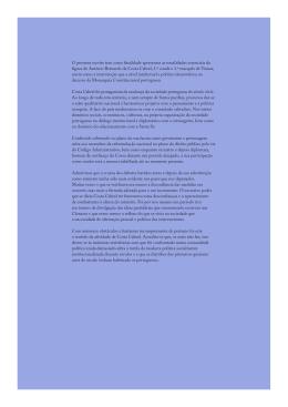 O presente escrito tem como finalidade apresentar as tonalidades