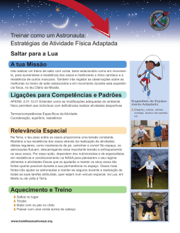 Atividade Adaptada - Mission X Train Like An Astronaut