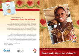 Uma vida livre da violência - Centre for Children and Families in the