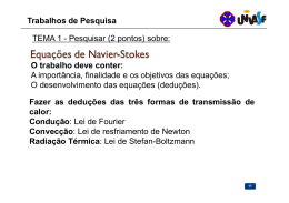 Trabalhos de Pesquisa TEMA 1 - Pesquisar (2 pontos