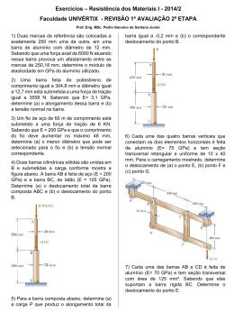 2014/2 Faculdade UNIVÉRTIX - REVISÃO 1ª AVALIAÇÃO