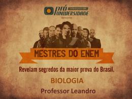 Biologia - Professor Leandro