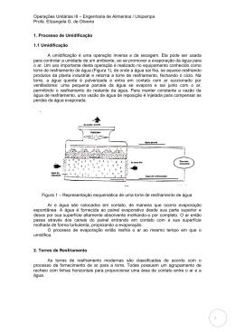 Operações Unitárias III – Engenharia de Alimentos / Unipampa