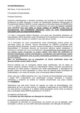 Ofício - Sociedade Brasileira de Nefrologia