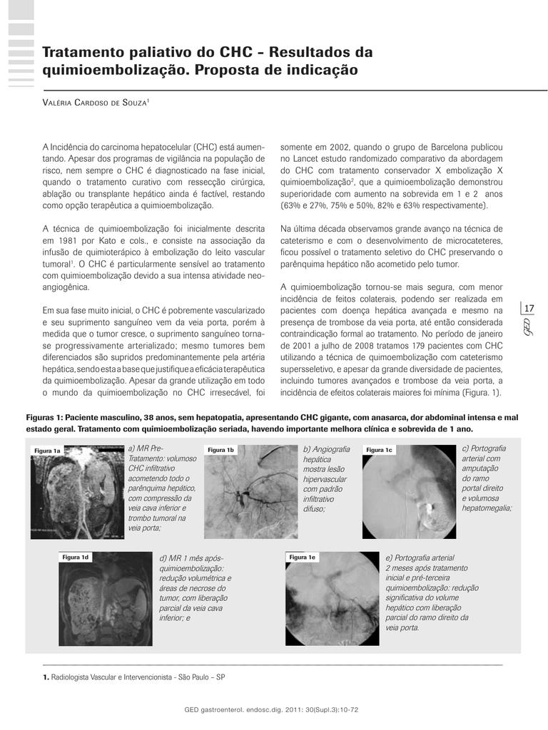 Tratamento veia da do porta trombose