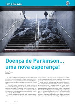 Doença de Parkinson… uma nova esperança!