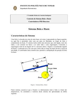 Sistema Bola e Haste - Departamento de Engenharia Electrotécnica