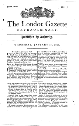 The London Gazette, Issue 16110