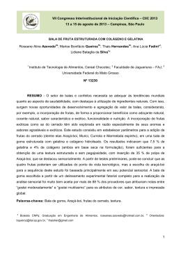 VII Congresso Interinstitucional de Iniciação Científica – CIIC