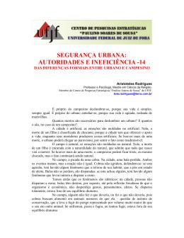 segurança urbana: autoridades e ineficiência -14