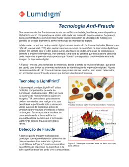 Tecnologia Anti-Fraude Lumidigm BR