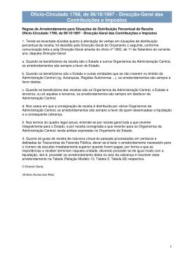 Ofício-Circulado 1768, de 06/10/1997 - Direcção