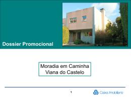Dossier Promocional Moradia em Caminha