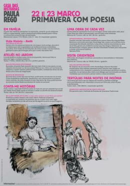 Primavera com Poesia 2014 - Casa das Histórias
