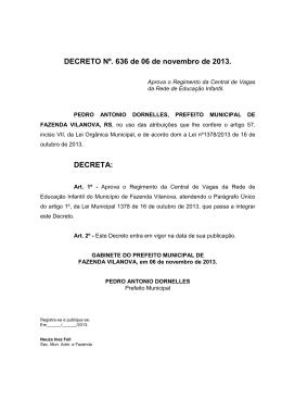 Baixar legislação - Prefeitura de Fazenda Vilanova