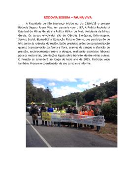 Texto para o site - Faculdade de São Lourenço