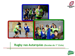 Diapositivo 1 - Federação Portuguesa de Rugby