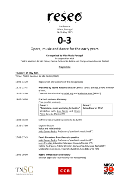 Final programme of the conference