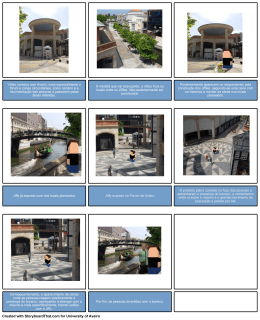 Created with StoryboardThat.com for University of Aveiro