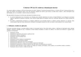 EU GPP Criteria for Indoor Lighting