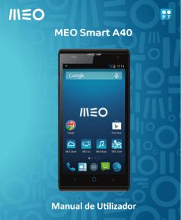 MEO Smart A40 Manual de Utilizador