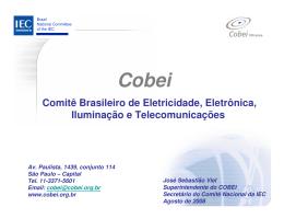 Comitê Brasileiro de Eletricidade, Eletrônica, Iluminação e