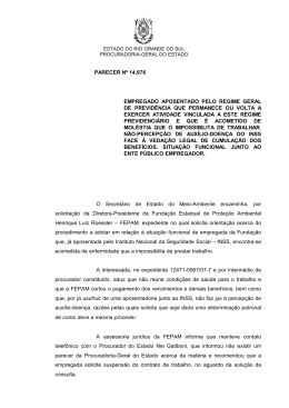 Requisição de Documentos nº - Governo do Estado do Rio Grande
