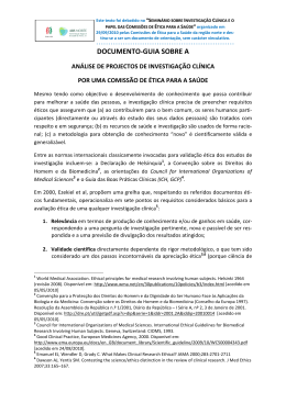 DOCUMENTO-GUIA SOBRE A