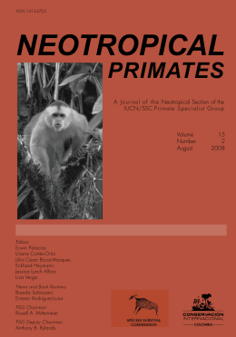 Neotropical Primates - Primate Specialist Group