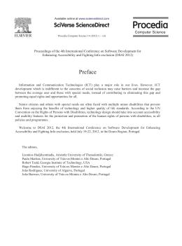 Preface - Sapientia