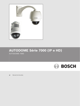 AUTODOME 7000 - Bosch Security Systems