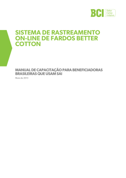 sistema de rastreamento on-line de fardos better cotton