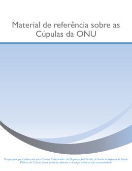 Material de referência sobre as Cúpulas da ONU
