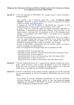 sisconsig - 2ª ICFEx