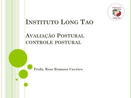 Instituto Long Tao Avaliação Postural