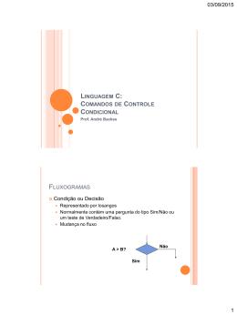Aula04 - Comandos Condicionais