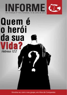 Baixar boletim em pdf - Igreja Batista Central de Fortaleza