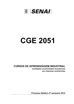 CGE 2051 ss