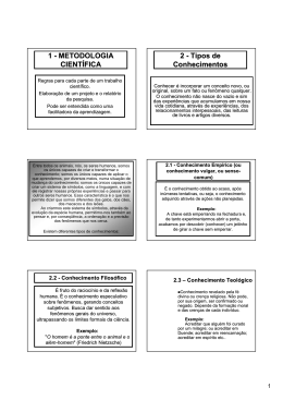 Texto 01 - Método de Pesquisa